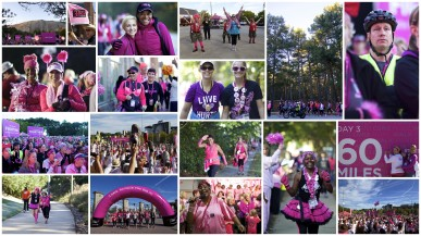 2014 Atlanta 3-Day Susan G Komen 3-Day Breast Cancer Walk Photos