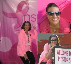 Debbi Shaffer enjoys the 3-Day as a proud breast cancer survivor.