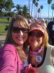 Susan and Krista are all smiles during their mother/daughter 3-Day weekends each year.