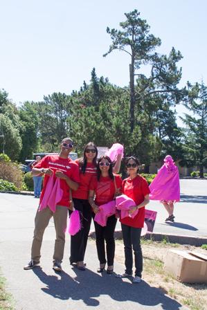 bank of america 2013 San Francisco Susan G. Komen 3-Day breast cancer walk