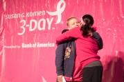 camp show hug 2013 San Francisco Bay Area Susan G. Komen 3-Day breast cancer walk