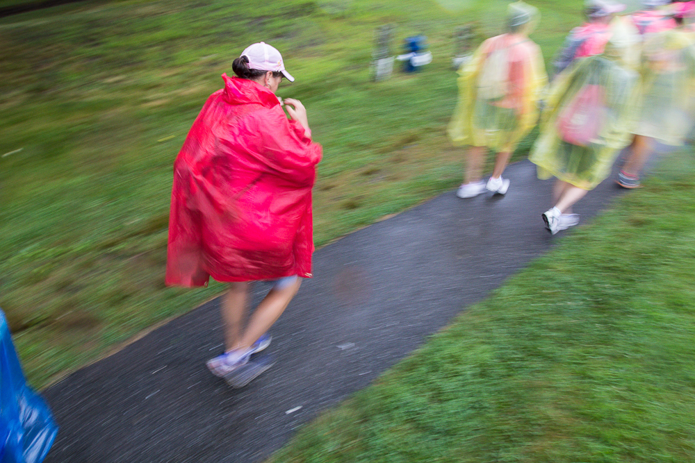 poncho rain 2013 Boston Susan G. Komen 3-Day Breast Cancer Walk