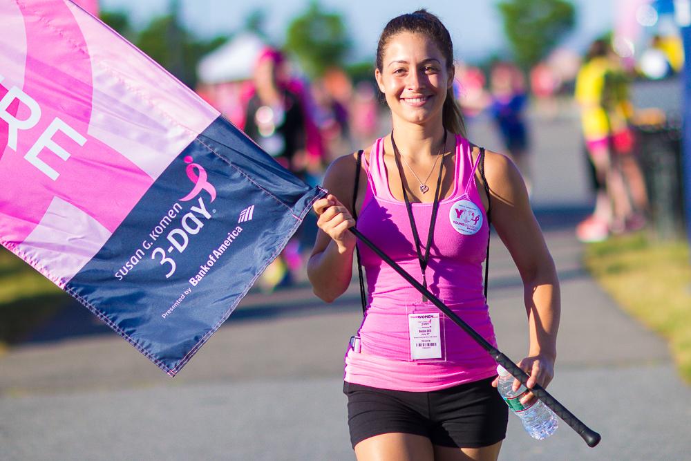 flag 2013 Boston Susan G. Komen 3-Day Breast Cancer Walk