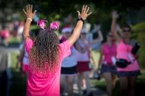 celebrate pink feathers 2013 Boston Susan G. Komen 3-Day Breast Cancer Walk