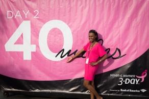 day two 40 miles 2013 Boston Susan G. Komen 3-Day Breast Cancer Walk