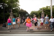 pink tutu 2013 Boston Susan G. Komen 3-Day Breast Cancer Walk