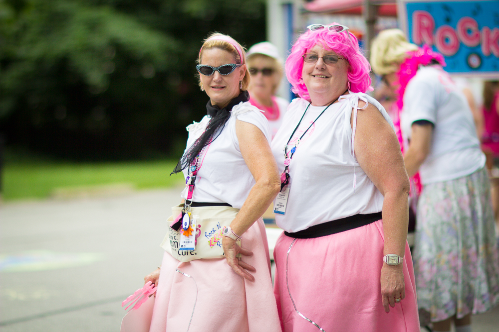 pink wig 2013 Cleveland Susan G. Komen 3-Day breast cancer walk