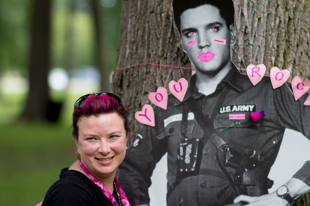elvis 2013 Cleveland Susan G. Komen 3-Day breast cancer walk