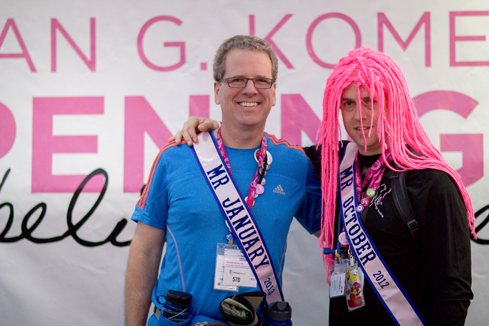 mr january 2013 Cleveland Susan G. Komen 3-Day breast cancer walk
