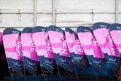 pink flags 2013 Cleveland Susan G. Komen 3-Day breast cancer walk