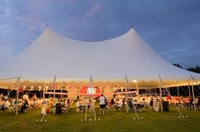dining tent 2013 Cleveland Susan G. Komen 3-Day breast cancer walk