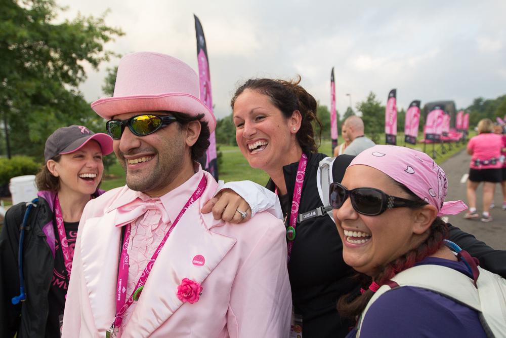 pink suit 2013 Cleveland Susan G. Komen 3-Day breast cancer walk