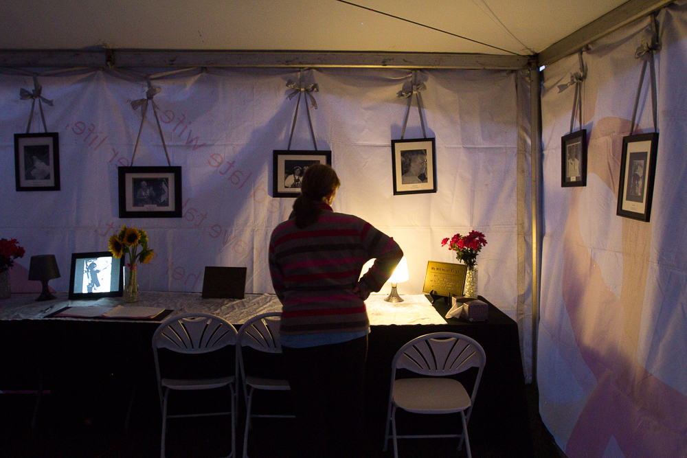reflection remembrance tent 2013 Cleveland Susan G. Komen 3-Day breast cancer walk