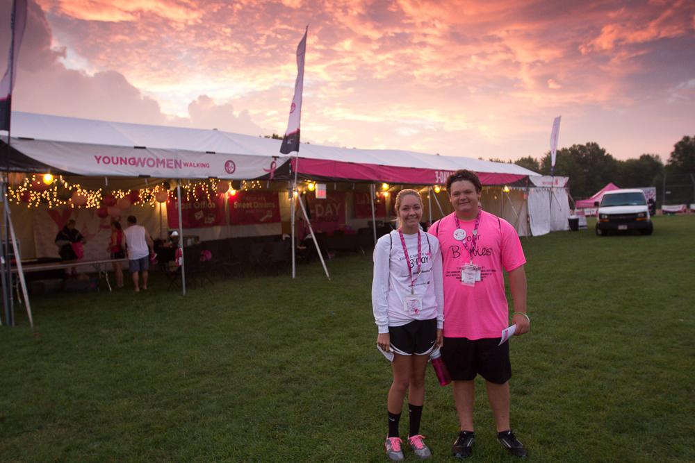 main street camp 2013 Cleveland Susan G. Komen 3-Day breast cancer walk
