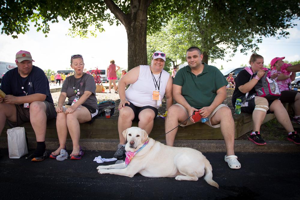 dog 2013 Cleveland Susan G. Komen 3-Day breast cancer walk