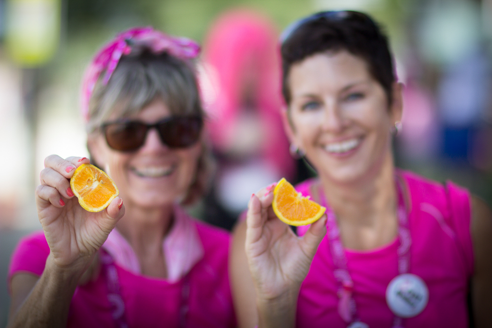 pit stop orange slice 2013 Cleveland Susan G. Komen 3-Day breast cancer walk