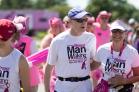 man walking 2013 Cleveland Susan G. Komen 3-Day breast cancer walk