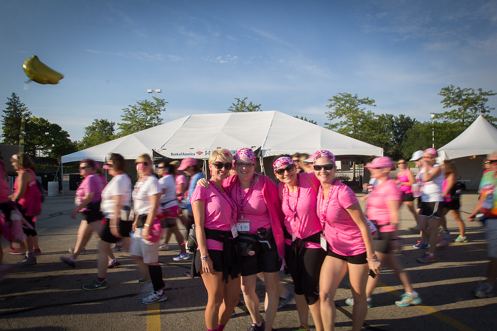pink team 2013 Chicago Susan G. Komen 3-Day breast cancer walk