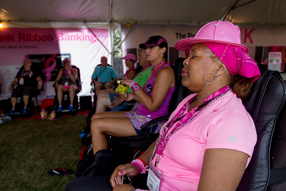 camp lounge 2013 Chicago Susan G. Komen 3-Day breast cancer walk