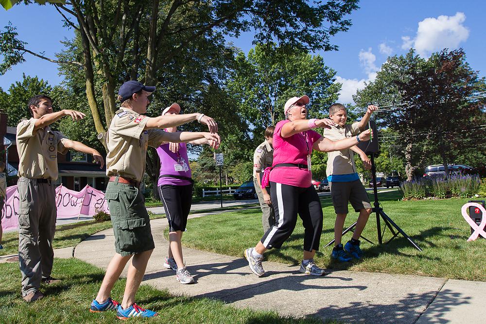 dance 2013 Chicago Susan G. Komen 3-Day breast cancer walk