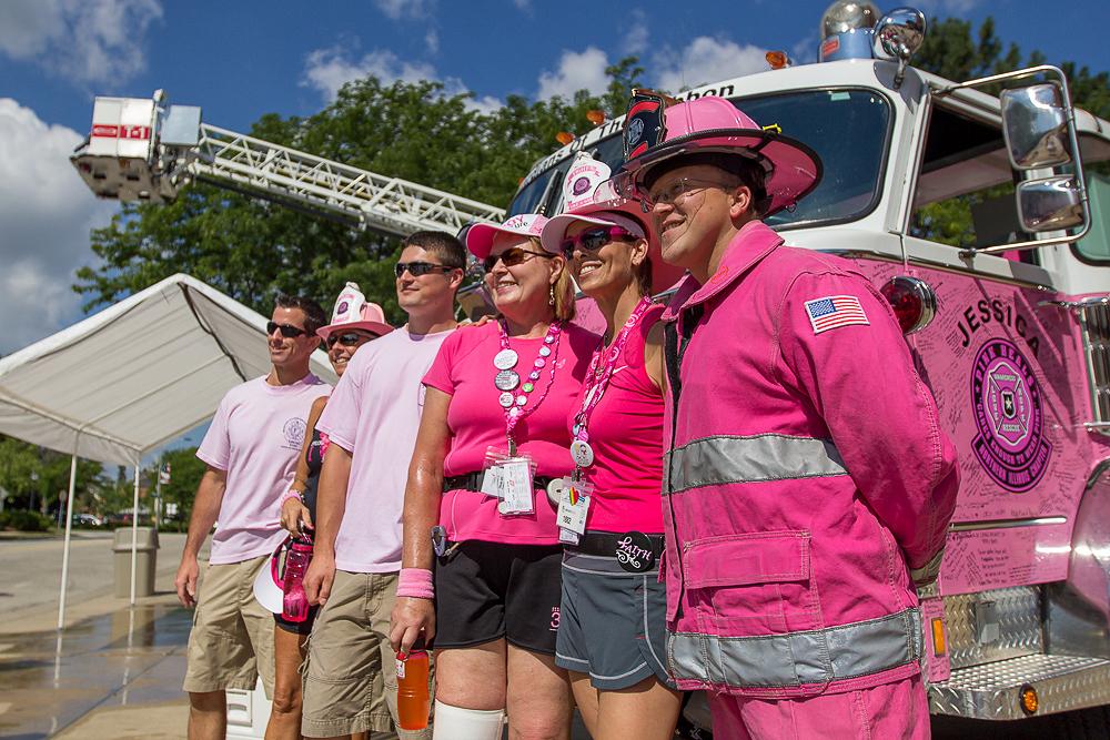 fire fighter 2013 Chicago Susan G. Komen 3-Day breast cancer walk