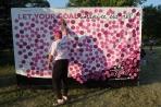 goal wall 2013 Chicago Susan G. Komen 3-Day breast cancer walk