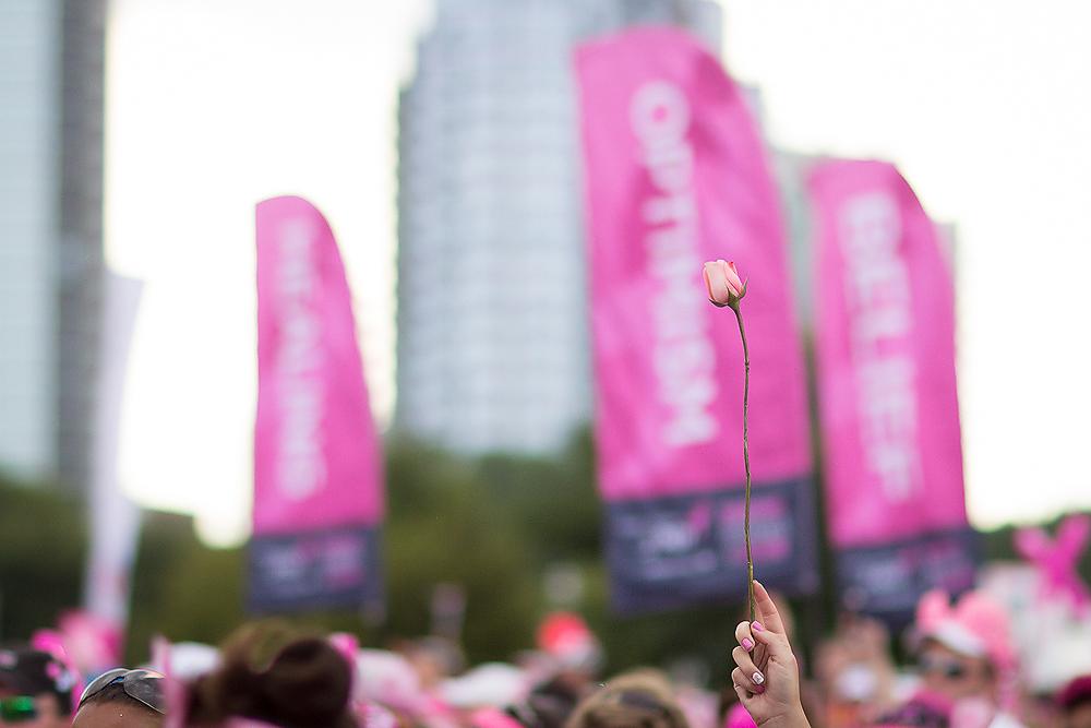 rose closing 2013 Chicago Susan G. Komen 3-Day breast cancer walk