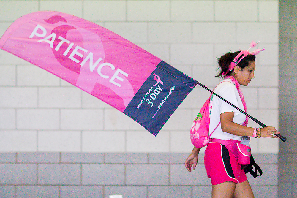 patience 2013 Chicago Susan G. Komen 3-Day breast cancer walk