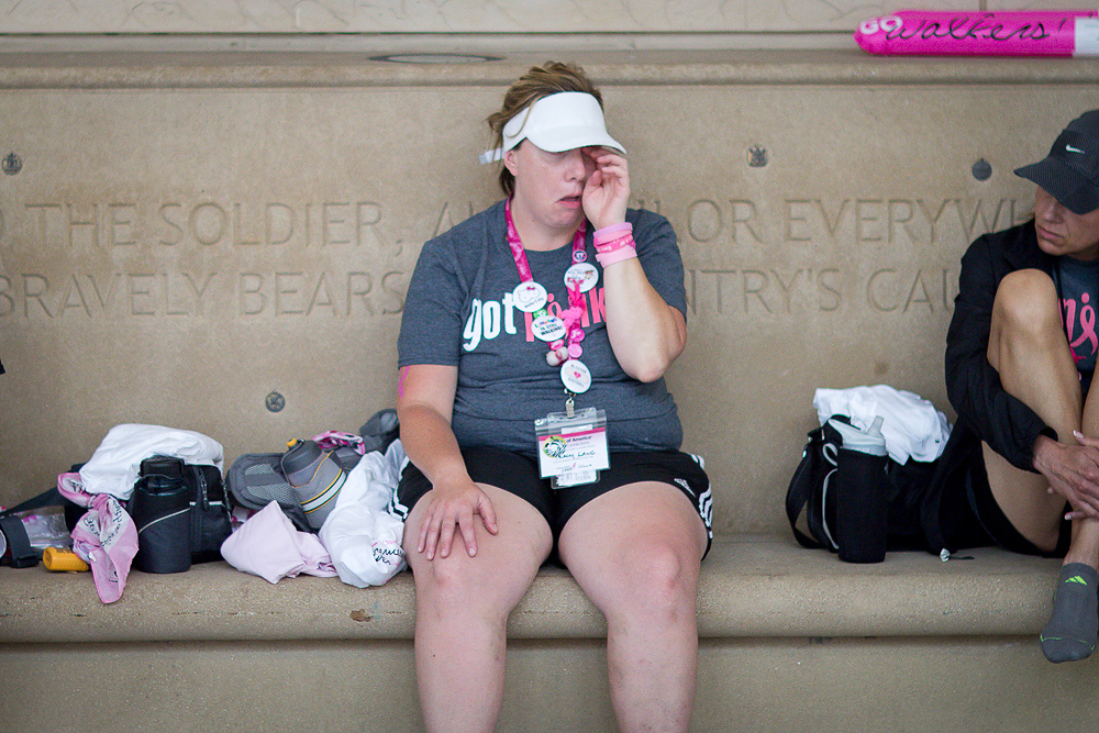 rest 2013 Chicago Susan G. Komen 3-Day breast cancer walk