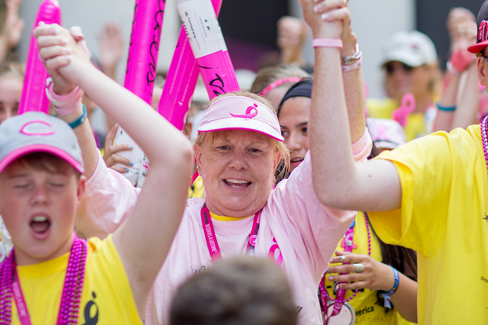 celebrate closing 2013 Chicago Susan G. Komen 3-Day breast cancer walk
