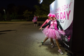 opening pink tutu 2013 Michigan Susan G. Komen 3-Day breast cancer walk