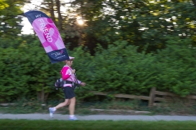 friend flag 2013 Michigan Susan G. Komen 3-Day breast cancer walk