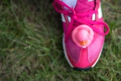 pink shoe 2013 Michigan Susan G. Komen 3-Day breast cancer walk
