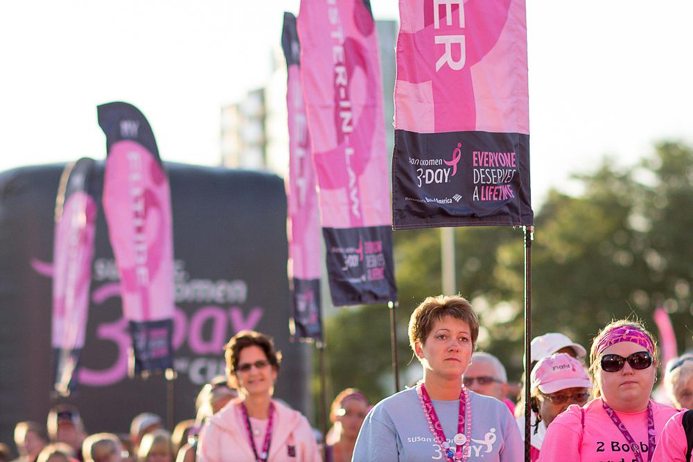 flags 2013 Twin Cities Susan G. Komen 3-Day breast cancer walk minneapolis st. paul