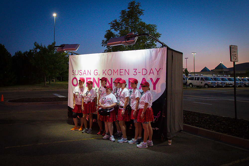 opening 2013 Twin Cities Susan G. Komen 3-Day breast cancer walk minneapolis st. paul