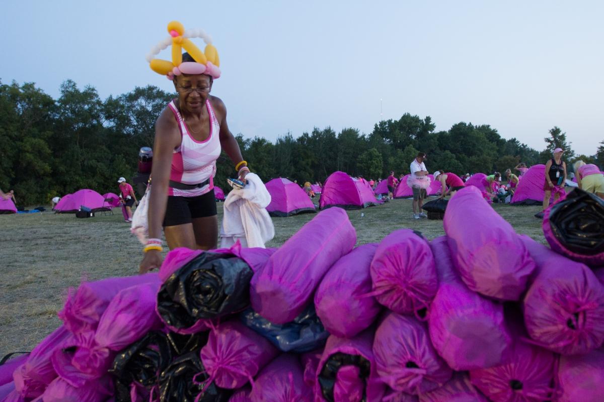 pink tent 2013 Twin Cities Susan G. Komen 3-Day breast cancer walk minneapolis st. paul