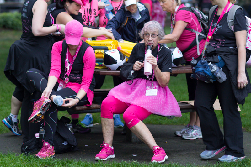 pit stop 2013 Seattle Susan G. Komen 3-Day breast cancer walk