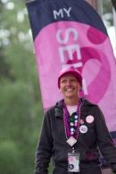 closing 2013 Seattle Susan G. Komen 3-Day breast cancer walk