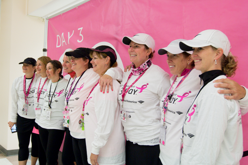 closing day three 2013 Seattle Susan G. Komen 3-Day breast cancer walk