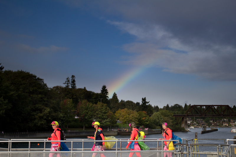 rainbow 2013 Seattle Susan G. Komen 3-Day breast cancer walk