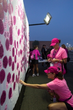 opening 2013 Philadelphia Susan G. Komen 3-Day breast cancer walk