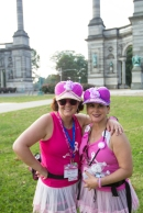 pink hat 2013 Philadelphia Susan G. Komen 3-Day breast cancer walk