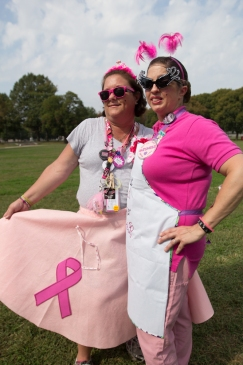 pink ribbon lunch 2013 Philadelphia Susan G. Komen 3-Day breast cancer walk