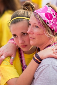 mother daughter youth corps 2013 Philadelphia Susan G. Komen 3-Day breast cancer walk