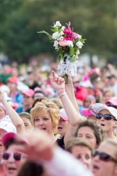 closing ceremony 2013 Philadelphia Susan G. Komen 3-Day breast cancer walk