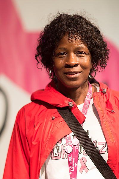 Cynthia from Alabama is a first time walker and joined Team Girlapalooza as she celebrates her 31st anniversary of surviving breast cancer