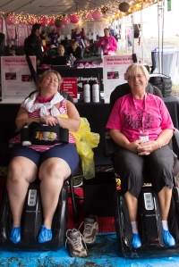 lounge massage 2013 Washington DC d.c. Susan G. Komen 3-Day breast cancer walk
