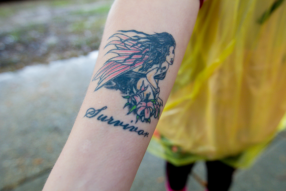 survivor tattoo 2013 Washington DC d.c. Susan G. Komen 3-Day breast cancer walk