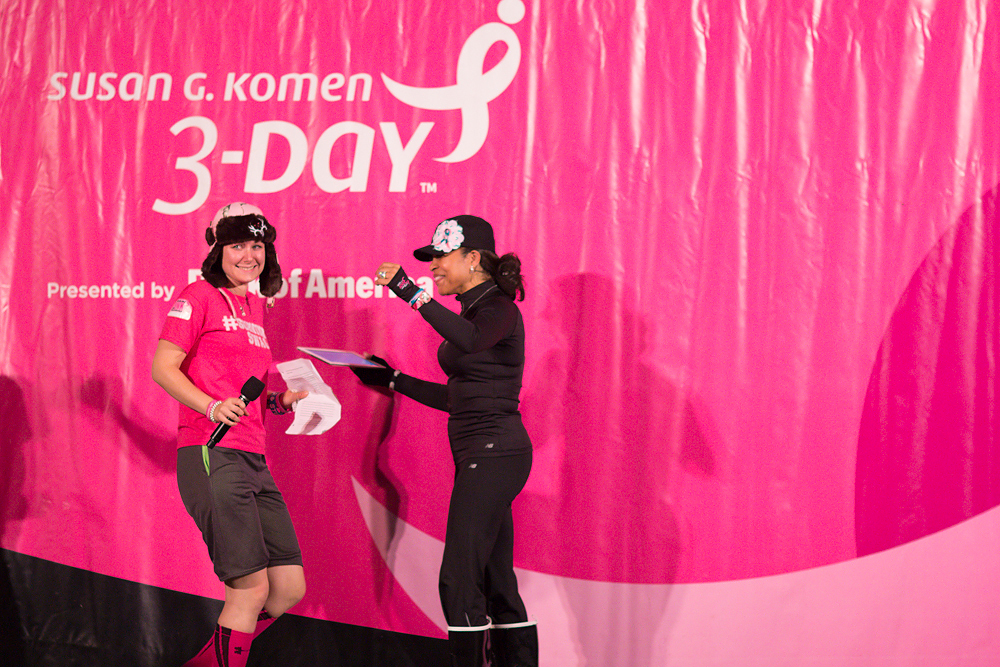 camp show dr sheri 2013 Washington DC d.c. Susan G. Komen 3-Day breast cancer walk