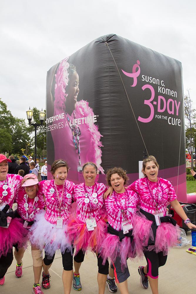 pink tutu 2013 Washington DC d.c. Susan G. Komen 3-Day breast cancer walk